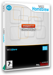 Mighty Channels Homebrew cover (DMGA)