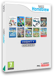 Mighty Loader Homebrew cover (DMLA)