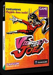 Viewtiful Joe (Promotional demo) GameCube cover (DVJP08)