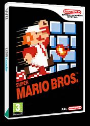 Super Mario Bros. VC-NES cover (FAGP)