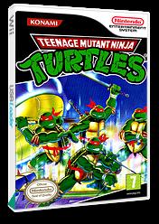 Teenage Mutant Ninja Turles VC-NES cover (FBKP)