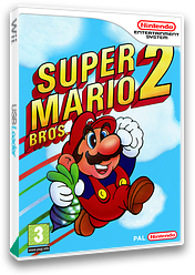 Super Mario Bros. 2 VC-NES cover (FBYP)