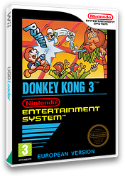 Donkey Kong 3 VC-NES cover (FEUP)