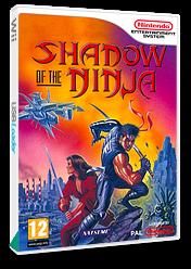 Shadow of the Ninja VC-NES cover (FFQM)