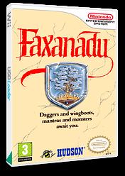 Faxanadu VC-NES cover (FFRP)