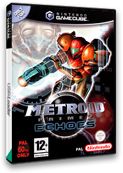 Metroid Prime 2: Echoes GameCube cover (G2MP01)