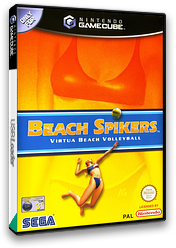 Beach Spikers: Virtua Beach Volleyball GameCube cover (GBSP8P)