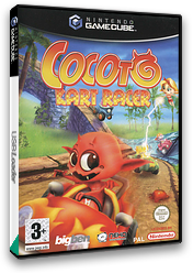 Cocoto: Kart Racer GameCube cover (GC5PNK)