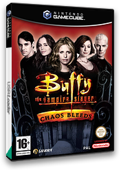 Buffy The Vampire Slayer Chaos Bleeds GameCube cover (GCQP7D)