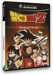Dragon Ball Z: Budokai GameCube cover (GD7PB2)
