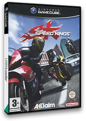 Speed Kings GameCube cover (GDCP51)