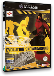 Evolution Snowboarding GameCube cover (GEBPA4)