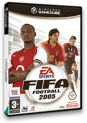 FIFA Football 2005 GameCube cover (GF5P69)