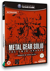 Metal Gear Solid: The Twin Snakes GameCube cover (GGSPA4)