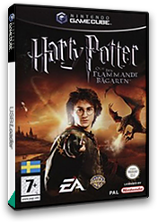 Harry Potter and the Goblet of Fire GameCube cover (GH4M69)