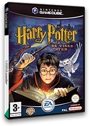 Harry Potter and the Philosopher's Stone GameCube cover (GHLX69)