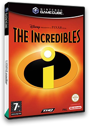The Incredibles GameCube cover (GICH78)