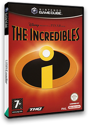 The Incredibles GameCube cover (GICP78)