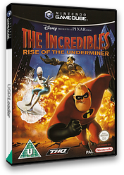The Incredibles:Rise of the Underminer GameCube cover (GIQX78)