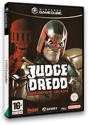 Judge Dredd: Dredd vs. Death GameCube cover (GJDY7D)