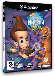 Jimmy Neutron Boy Genius: Attack of the Twonkies GameCube cover (GJYP78)