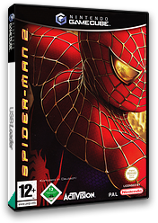 Spider-Man 2 GameCube cover (GK2D52)