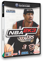 NBA 2K3 GameCube cover (GK3P8P)