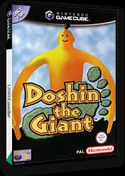 Doshin the Giant GameCube cover (GKDP01)