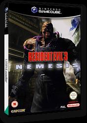 Resident Evil 3: Nemesis GameCube cover (GLEP08)