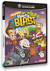 Nickelodeon Party Blast GameCube cover (GNPP70)