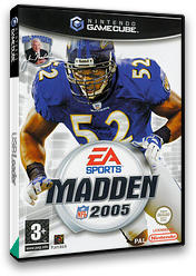 Madden NFL 2005 GameCube cover (GNQP69)