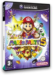 Mario Party 5 GameCube cover (GP5P01)