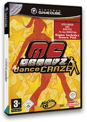 MC Groovz Dance Craze GameCube cover (GR4PMZ)