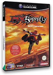 MX Superfly featuring Ricky Carmichael GameCube cover (GSVP78)