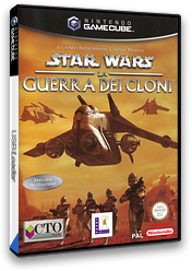 Star Wars - The Clone Wars GameCube cover (GSXI64)