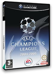 UEFA Champions League 2004-2005 GameCube cover (GUCP69)