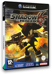 Shadow the Hedgehog GameCube cover (GUPP8P)