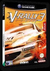 V-Rally 3 GameCube cover (GV3P70)