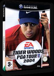 Tiger Woods PGA Tour 2004 GameCube cover (GW4P69)