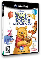 Winnie the Pooh's Rumbly Tumbly Adventure GameCube cover (GWHP41)