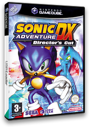 Sonic Adventure DX:Director's Cut GameCube cover (GXSP8P)