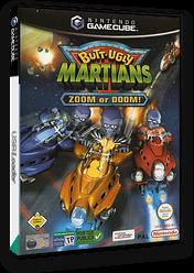 Butt-Ugly Martians Zoom or Doom GameCube cover (GZMP7D)
