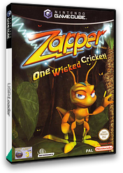 Zapper:One Wicked Cricket! GameCube cover (GZPP70)
