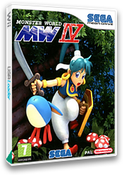 Monster World IV VC-MD cover (MB3L)