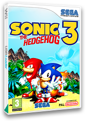 Sonic the Hedgehog 3 VC-MD cover (MBMP)