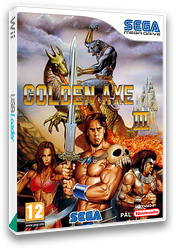 Golden Axe III VC-MD cover (MBOP)