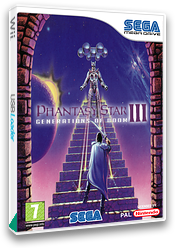 Phantasy Star III: Generations of Doom VC-MD cover (MCCP)