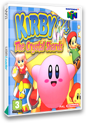 Kirby 64: The Crystal Shards VC-N64 cover (NAMP)