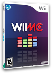 WiiMC+ Homebrew cover (PLUS)