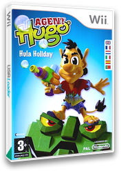 Agent Hugo: Hula Holiday Wii cover (R3HP6Z)